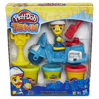 Hasbro, Play-Doh Town, zestaw Motor Policyjny