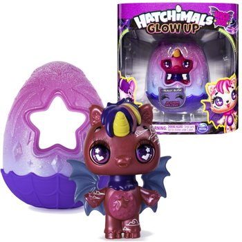 Hatchimals Glow up, figurka Nightfall Unikeet