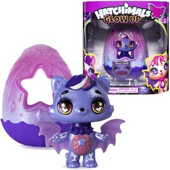Hatchimals Glow up, figurka Twilight Kittycan