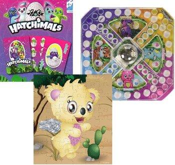 Hatchimals, zestaw gier z puzzlami-Spin Master
