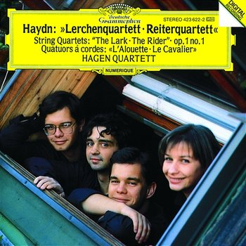 "Haydn: String Quartets Op.64 No.5 ""The Lark""; Op.1 No.1; Op.74 No.3 ""The Horseman"" - Hagen Quartett"