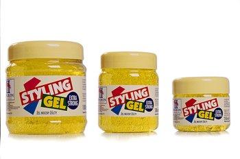 Hegron, Styling, żel do modelowania włosów Extra Strong żółty, 500 ml-Hegron