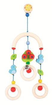 Heimess, Zabawka dla niemowlaka, Zawieszka z klipsem, Ptaszki, soft colors, 17,5 cm-Heimess