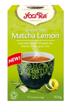 Herbata YOGI TEA Matcha Lemon, 30,6 g - Yogi TEA