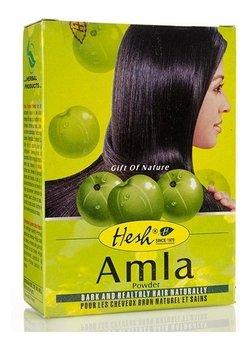 Hesh, Amla, puder do włosów i twarzy, 100 g-Hesh