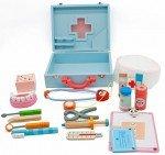 Heze, zabawka edukacyjna Zestaw lekarski w walizce