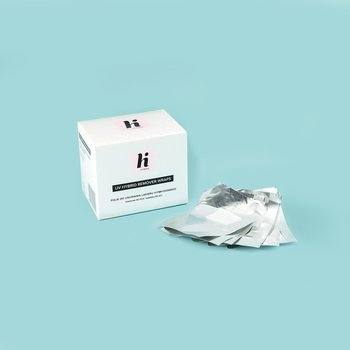 Hi Hybrid, folie do usuwania lakieru hybrydowego, 50 szt.-Hi Hybrid