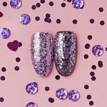 Hi Hybrid, Glam, brokat na paznokcie #508 Pink Glitter, 1,3 g-Hi Hybrid