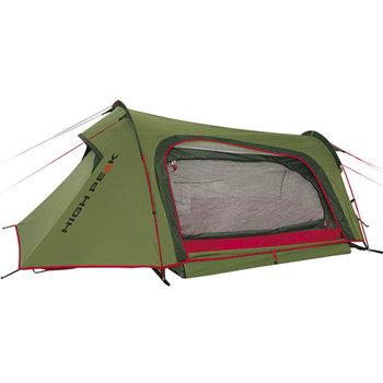 High Peak, Namiot 2-osobowy, Sparrow 10186, zielony, 260x160x90/60 cm-High Peak