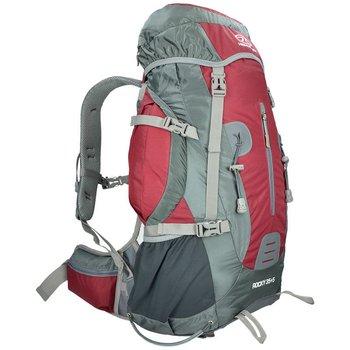 Highlander, Plecak turystyczny, Rocky, czerwony, 35+5L -Highlander