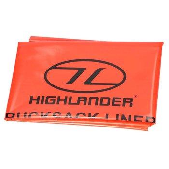 Highlander Pokrowiec Wkład do Plecaka Wodoodporny 75L Pomarańczowy-Highlander