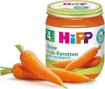 HiPP, Bio, marchewka gotowana na parze bez soli, 125 g-Hipp