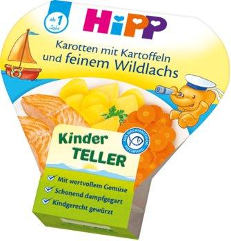 Hipp, Łosoś z ziemniakami i marchewką + Omega 3 i 6, 250 g-Hipp