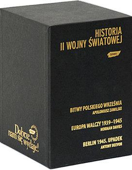 Historia II Wojny Światowej Pakiet-Zawilski Apoloniusz, Davies Norman, Beevor Antony