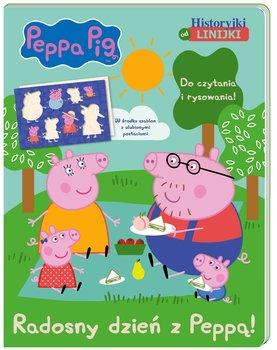 Historyjki od linijki. Radosny dzień z Peppą! Peppa Pig-Opracowanie zbiorowe