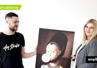 Hog Studio - od wieprza do dziewczyny z perłą, czyli boom na dekorowanie wnętrz plakatami