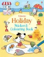 Holiday Sticker and Colouring Book-Greenwell Jessica
