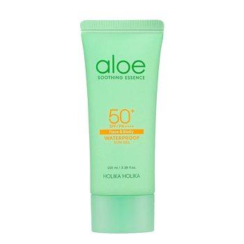 Holika Holika Aloe Waterproof Sun Gel SPF50+ 100ml-Holika Holika