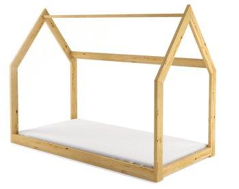 Holzmajster, Łóżko dziecięce, Domek, 160x80 cm-Holzmajster