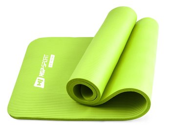 Hop-Sport, Mata do ćwiczeń, HS-N015GM, zielony, 180x61cm-Hop-Sport