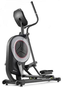 Hop-Sport, Orbitrek elektryczno-magnetyczny, HS-100C Galaxy, iConsole+training z matą, czarny-Hop-Sport