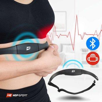 Hop-Sport, Pas piersiowy telemetryczny, HS-P095PR, czarny-Hop-Sport