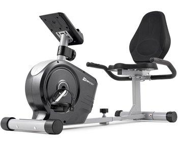 Hop-Sport, Rower treningowy, HS-2050L Beat, srebrny-Hop-Sport