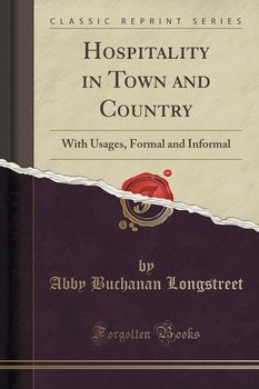 Hospitality in Town and Country - Longstreet Abby Buchanan