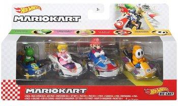 Hot Wheels, autka Mariokart 4-pack GWB36-Hot Wheels