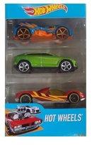 Hot Wheels, pojazdy, 3-pack