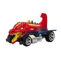Hot Wheels, samochód wyścigowy Fighters Dragon, blaster