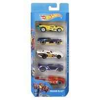 Hot Wheels, samochody, 5-pack