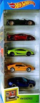 Hot Wheels, zestaw autek, 5-pak  -Hot Wheels