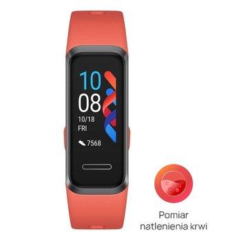 Huawei, Smartband, Band 4, czerwony-Huawei
