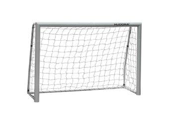 Hudora, Bramka piłkarska, Expert, szary, 180x120cm-Hudora
