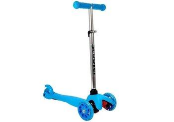 Hulajnoga Dziecięca Trójkołowa Balansowa Model 913 Niebieska-Lean Toys