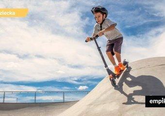 Hulajnoga wyczynowa dla dzieci – co wybrać? Czym różni się od zwykłej hulajnogi?
