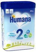 Humana 2, Mleko następne 6m+, 800 g-Humana