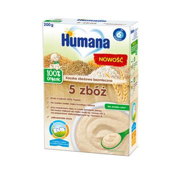 Humana, Kaszka bezmleczna wielozbożowa, 200 g-Humana