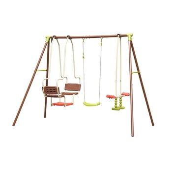 Huśtawka ogrodowa, Plac zabaw dla dzieci, 225x155x200 cm-Victoria Sport