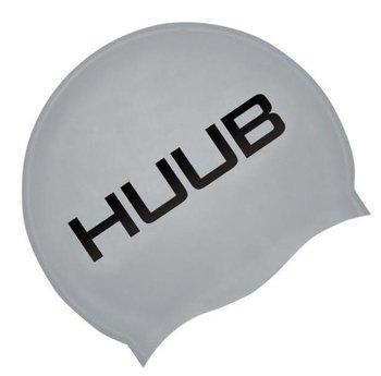 Huub, Czepek pływacki silikonowy, srebrny-Huub