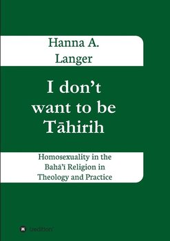I don't want to be Tāhirih-Langer Hanna A.