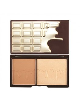 I Heart Revolution, Chocolate, paletka do konturowania twarzy Bronze & Glow, 11 g-I Heart Revolution