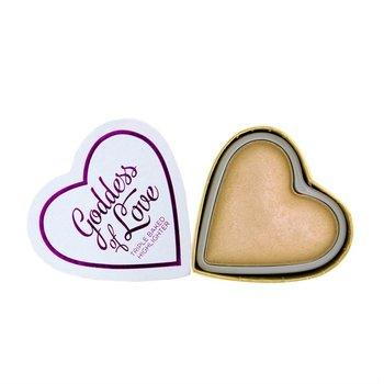 I Heart Revolution, I Heart Revolution, rozświetlacz Golden Goddess, 10 g-I Heart Revolution