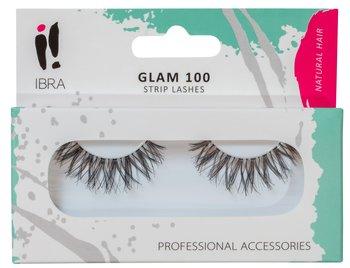 Ibra, sztuczne rzęsy na pasku Glam 100 Black-Ibra