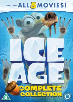 Ice Age: Complete Collection (brak polskiej wersji językowej)-Wedge Chris, Thurmeier Mike, Saldanha Carlos, Disher Karen, Martino Steve, Chu T. Galen