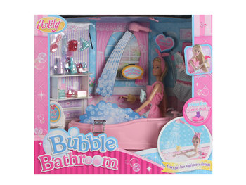 Icom, lalka w kąpieli-Icom