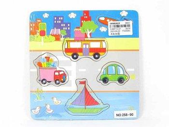 Icom, układanka Puzzle Pojazdy-Icom