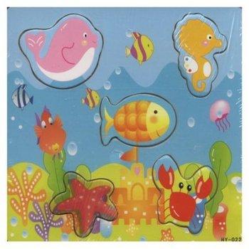 Icom, układanka  Puzzle Zwierzątka Morskie-Icom