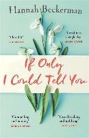 If Only I Could Tell You-Beckerman Hannah